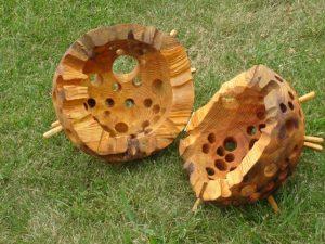 Medžio skulptūra