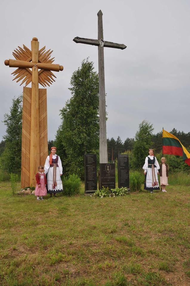Kryžius, 2014 m., Guronių k.