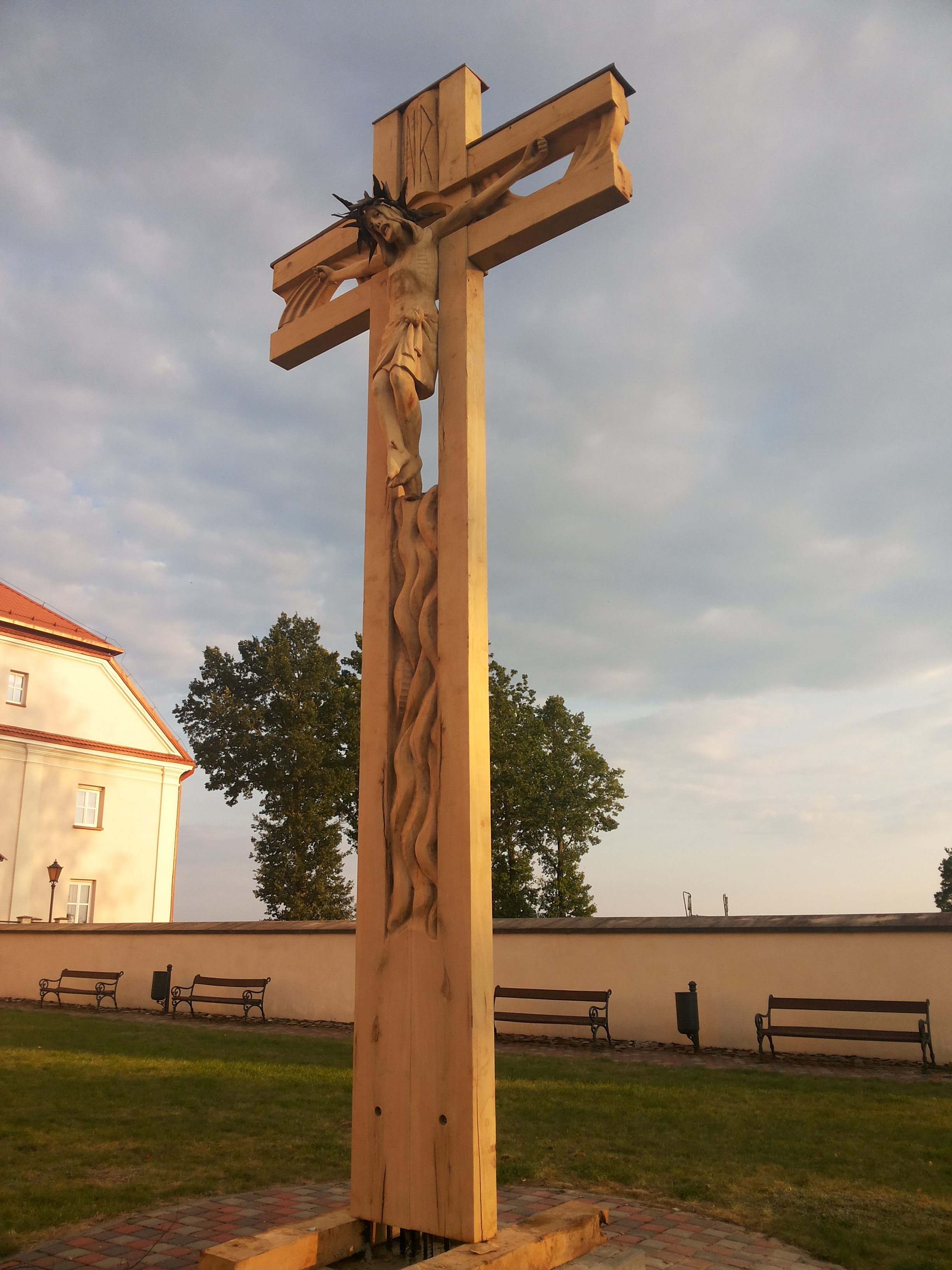 Kryžius, 2014 m., Liškiava