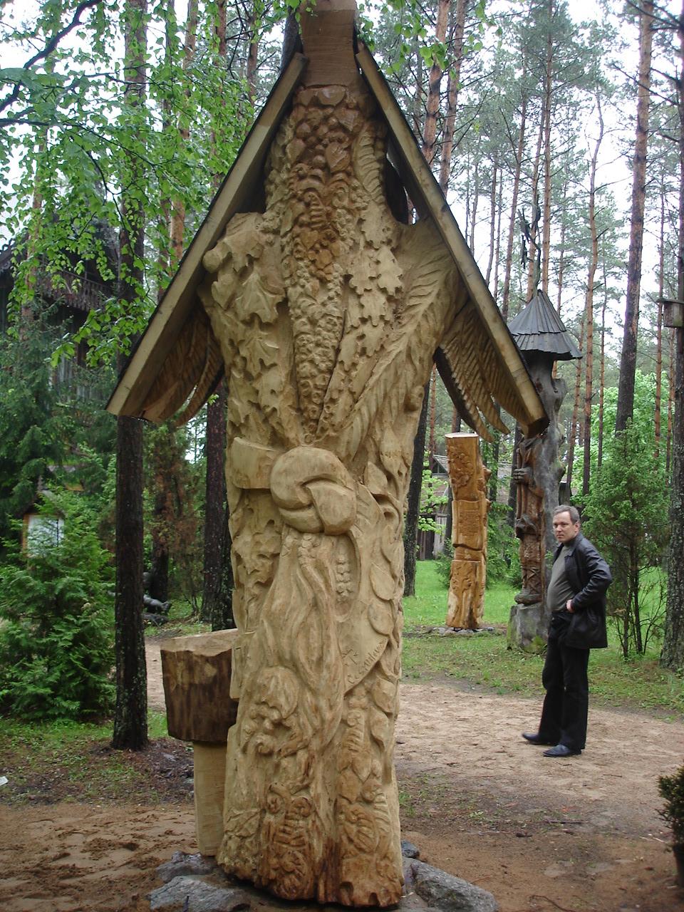 """Prof. J. Raukčiui atminti, 2007 m., ąžuolas, """"Girios aido"""" parkas, Druskininkai"""