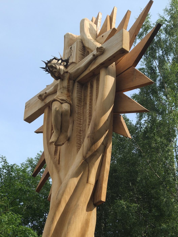 Kryžius T. Matulionio tėviškėje, 2017 m., Kudoriškio k.